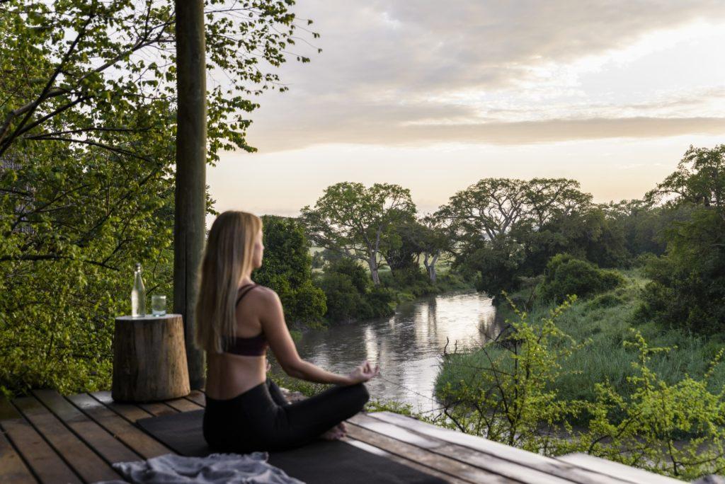 Singita Faru Faru Lodge - Deck Overlooking River resized