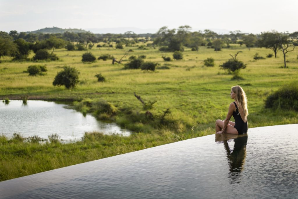 Singita Faru Faru Lodge - Main Pool and Water Whole resized