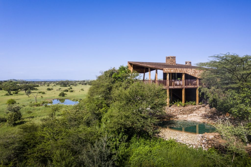 Singita Faru Faru Lodge - View of Lodge resized