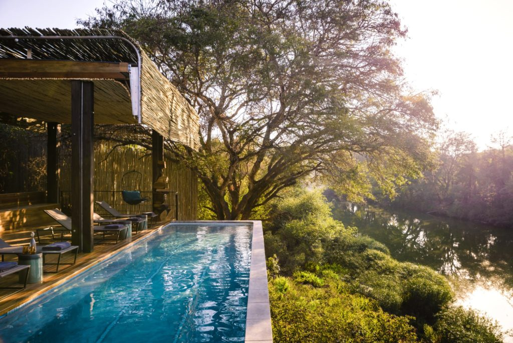 Singita Sweni main lodge swimming pool resized