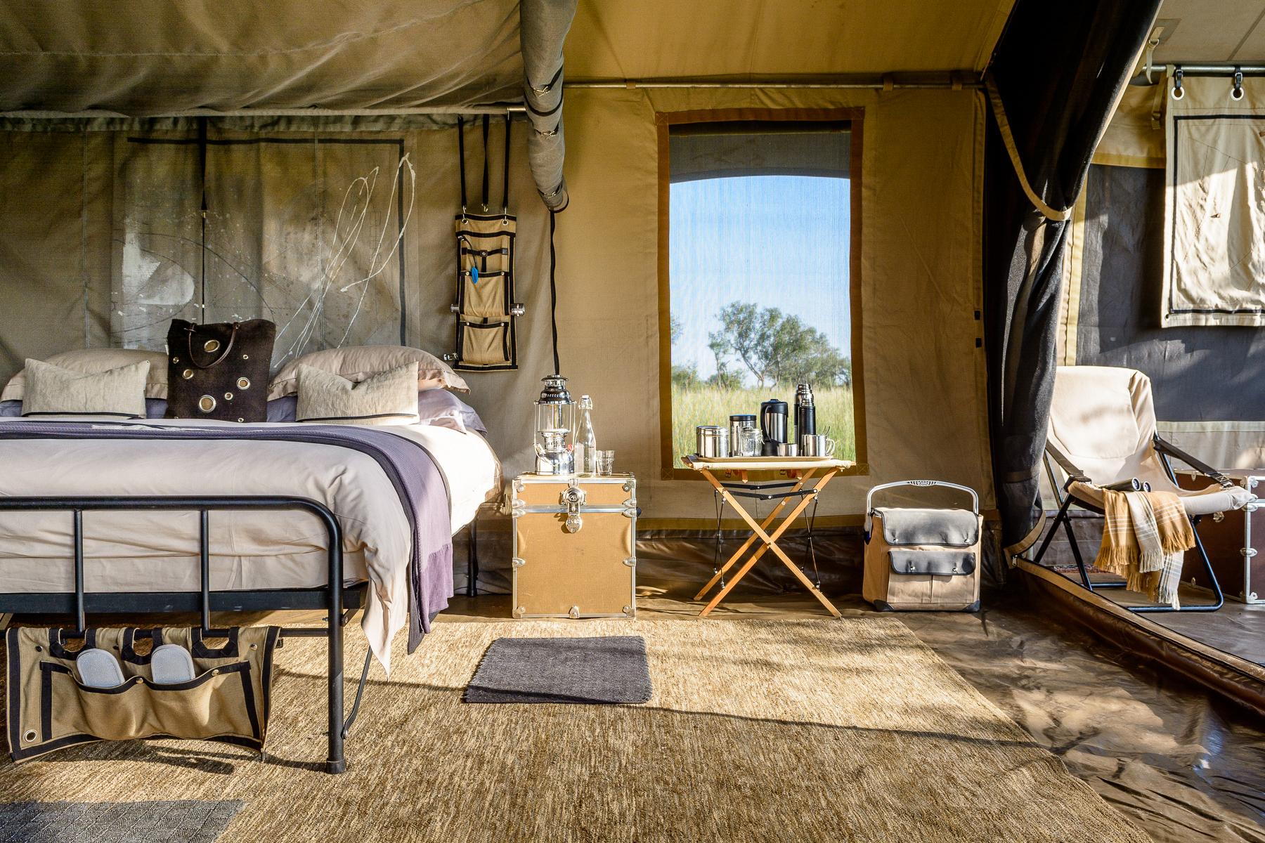 explore tent interior